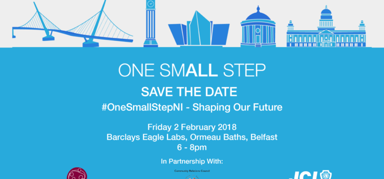 Shaping Our Future Youth Conference – #OneSmallStepNI